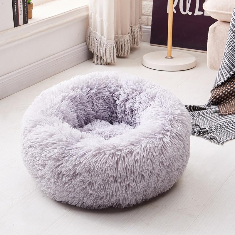 Long Plush Super Soft Dog Bed