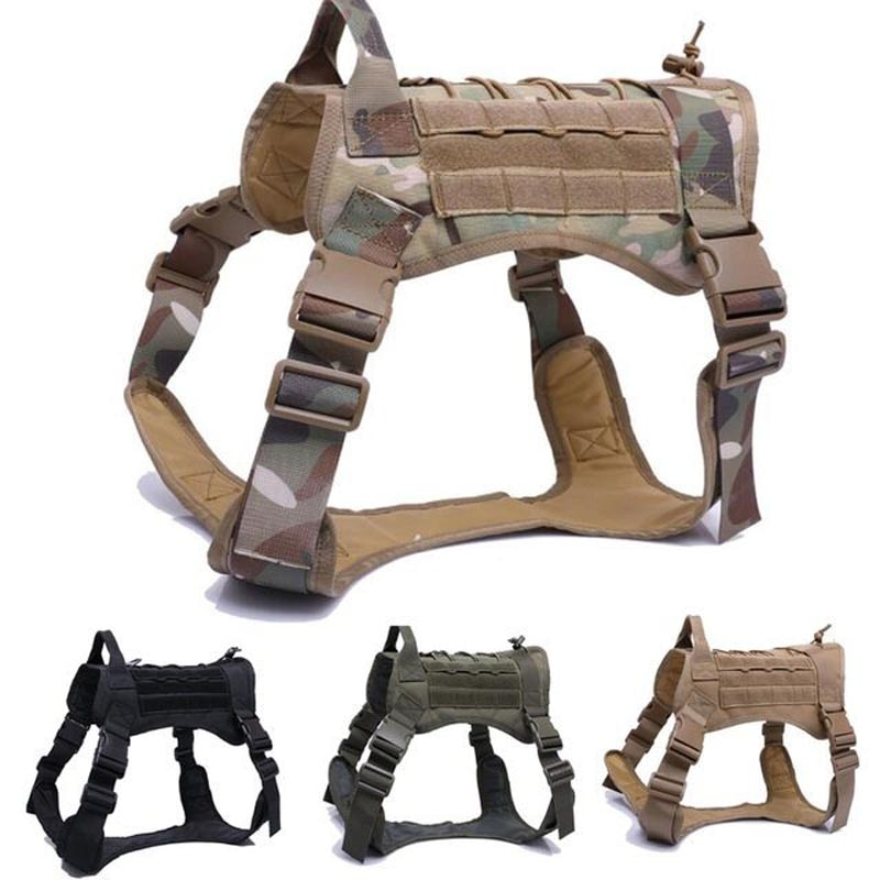Tactical Dog Harness Set For Dogs