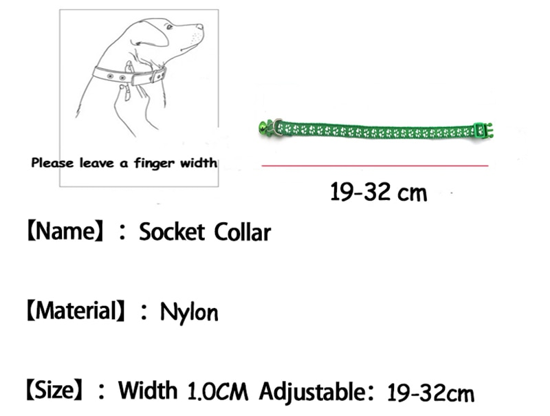 Adjustable Pet Collar for Dogs and Cats
