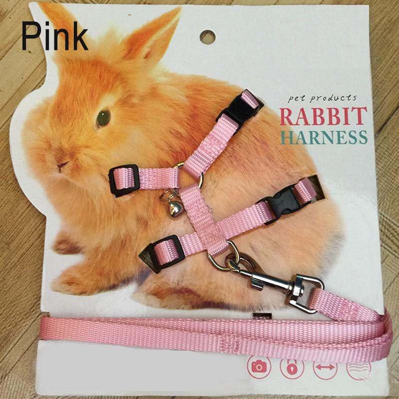 Pet Rabbit Soft Harness Leash