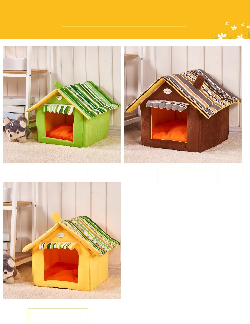Cat Bed and Dogs House