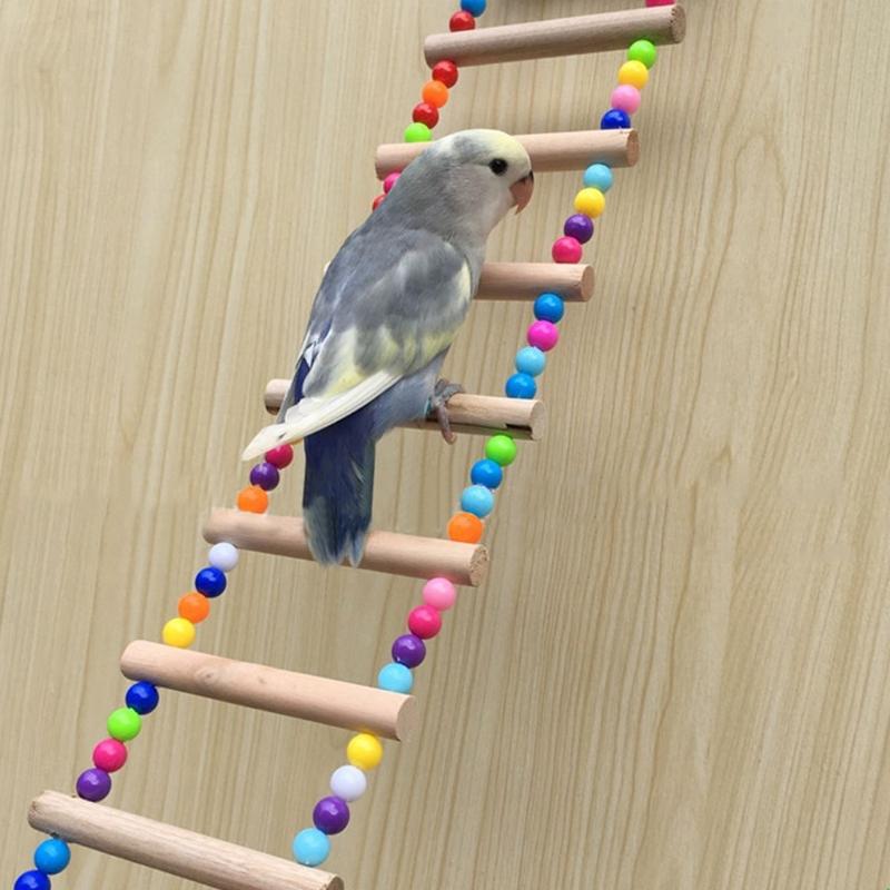 Birds Pets Parrots Ladders Climbing Toy