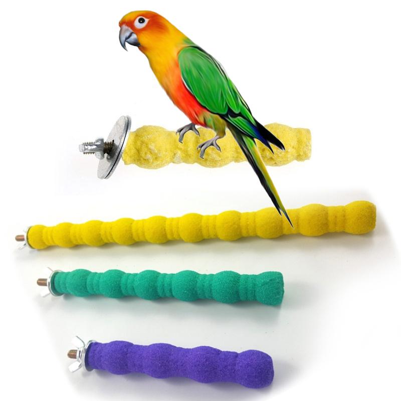 Pet Bird Toys  Parrot Chew Grinding Perches